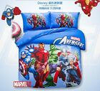 *** Avengers Queen Bed Quilt Cover Set - Flat or Fitted Sheet ***