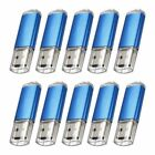 Lot/10 1GB 2GB 4GB 8GB 16GB USB 2.0 Rectangle Flash Drive Memory Stick Pen Drive
