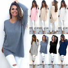 Fashion Women Long Sleeve Casual Pullover Sweater Shirt Loose Blouse Jumper Tops