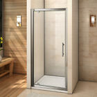 New 700 760 800 900 1000 Pivot Hinge Shower Door Enclosure Glass Screen Cubicle
