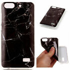 Soft TPU Flexible Rubber Classic Marble Waterproof Case Cover For Huawei Phone