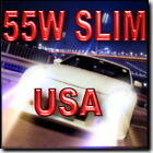 55W 50W SLIM H7 Xenon HID Kit For Low Beam 4300K 6000K 8000K 10000K $