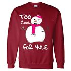 Womens Snowman Christmas Jumper