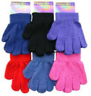 Thermal Kids Children's Magic Gloves Girls Boy's Knitted Warm Winter Size One