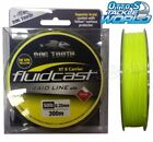 Dogtooth Fluidcast 8 Carrier Braid Hi-vis Yellow 300m Spool Line Dog Tooth BRAND