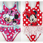 new kids baby Girls Minnie mouse swimmer bather swimwear pool beach summer xmas