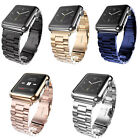 Stainless Steel Wrist Bracelet Clasp for Apple Watch 1/2 iWatch Band 42mm 38mm