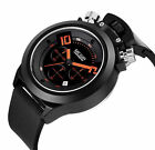 2016 MEGIR Men's Silicone Military Watches Analog Display Date Chronograph Sport