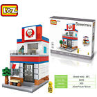 Apple Starbucks 7-11 KFC McDonald Theatre pizza street mini LOZ iBLOCK LegoBlock