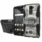 LG [G Stylo 2 Plus]  Armor Case [Holster] [Kickstand] [Screen Protector] - I