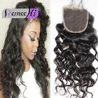 New Brazilian Lace Closure loose Curly Hair Closure 4*4 Free/Middle/Three Parts