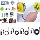 New 1-5M 6LED Wifi Endoscope Waterproof Inspection Camera For iPhone Android V