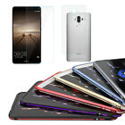 LUPHIE HUAWEI Mate 9 Metal Bumper + Tempered Glass Screen Protector + Back Film