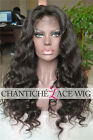 7A Virgin Human Hair Front Lace Wigs Brazilian Remy Body Wave Glueless Full Wig
