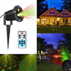 Christmas MOTION Star Light Laser LED Projector Outdoor Garden + Controller Gift