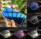 Color Mirror Effect Tempered Glass Screen Protector Case 4 iPhone 5 5S 6 6S Plus
