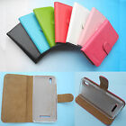 For IUNI Smartphone--Folder Flip Folio PU Leather Wallet Case Cover 4G LTE