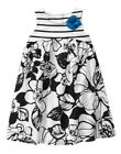 GYMBOREE SPRING GETAWAY STYLES BLACK FLORAL PRINTED WOVEN DRESS 6 12 2 3 4 5 NWT