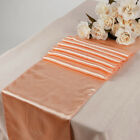 25pcs Wedding 12 X 108 inch Satin Table Runner Banquet decoration FREE SHIPPING