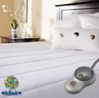 HEATED ELECTRIC MATTRESS PAD, TOPPER: DELUXE, QUILTED; TWIN, FULL, QUEEN, KING