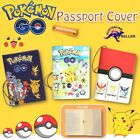 POKEMON Go Pikachu 3D Passport Cover Holder Card Travel Christmas Holiday