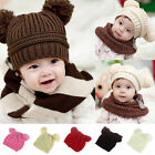 Infant Baby Toddler Kids Boy Girl Hat Knitted Crochet Beanie Winter Warm Cap New
