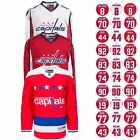 2016 17 Washington Capitals Reebok NHL Player Premier Jersey Collection Mens