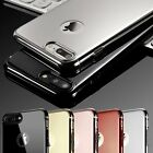 For Apple iPhone 6 6s 7 Plus Cover New Hard Slim Metal effect Mirror Back Case