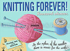 RETRO METAL PLAQUE/FUNNY : Knitting forever Sign