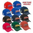 New Titleist Golf MLB Fitted Polyester Cap PICK YOUR TEAM Size M/L 3D LOGO
