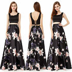 Women's Square Neck Sleeveless Long Evening Party Prom Dress 08962 US Seller