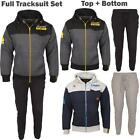 New Hooded Mens Full Top Bottoms Contrast Pocket DL Funk Tracksuit Set Sizes