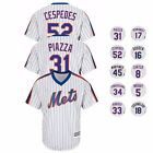 New York Mets MAJESTIC Alternate Classic Throwback Cool Base Jersey Men's on Ebay