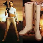 Padme Amidala Boots the Movie Star Wars Cosplay Shoes for Woman Beige PU BootsAA $43.7 USD