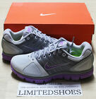 WMNS NIKE LUNARGLIDE+2 PLATINUM GREY PURPLE 407647-051 WOMENS orange white black