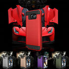 For Samsung Galaxy Phones Slim Brushed Armor Hard Case Shockproof Phone Cover