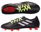 Mens Soccer Cleats Adidas Conquisto II FG Black Soccer Shoes NEW