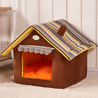 Warm Dog House Cat Bed Pet Puppy Blanket  Washable Dog Kennel Small Medium Large