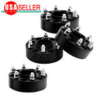 4X Black Ford F-150 Wheel Spacers Raptor Expedition Adapters 1.5