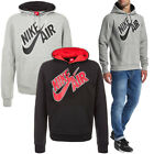 Nike Air Pivot Rubber Print Logo Pullover Hoodie  Mens Size