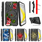 For HTC Bolt | HTC 10 Evo Clip Holster Stand Case Affectionate Flowers