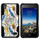 For Huawei Pronto LTE | SnapTo H891L G620 Hybrid Dual Layer Case + Kickstand