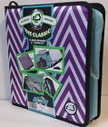 "Case-It D258-P ""The Classic"" 3 Ring 2"" Capacity Zippered Binder ~ Free Shipping"