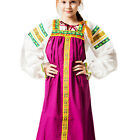 Sarafan Darya for girl with blouse russian traditional