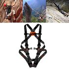 New Full-Body Harness Professional Fire Rescue Climbing Caving Belt Safety Gear
