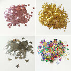 Gold Silver Hearts Stars Butterflies Wedding Confetti Table Decoration Sprinkle
