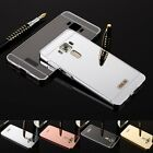 Ultra-Thin Aluminum Metal Frame Case Mirror Back Cover Fr Asus Zenfone 3 ZS570KL