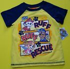 Paw Patrol Nickelodeon Baby Toddler Kids Short Sleeve T-Shirt