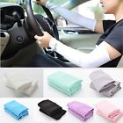 UV Sun Protection Arm Sleeves Stretch Cooling Sports Golf Running Covers ATAU