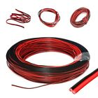 2Pin Cars Motorcycle Electric Wire Cable Red/Black Connector For LED Strip Light